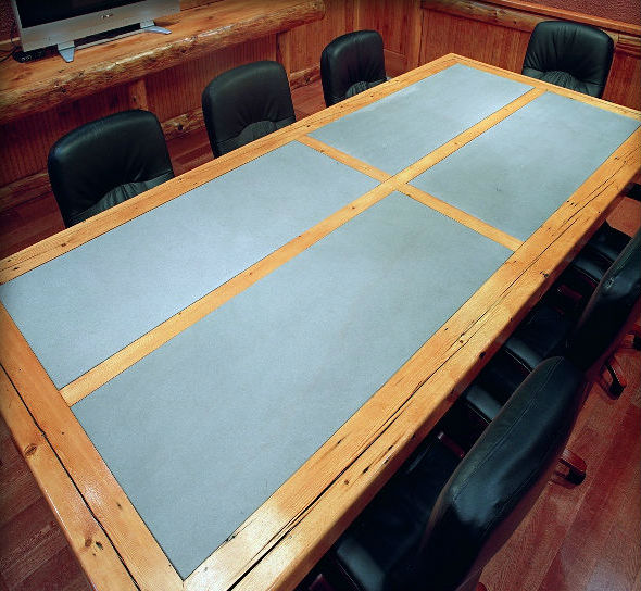 Blue Honed Finish Table Top