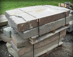 """6"""" Natural Edge Quarry Steps"""