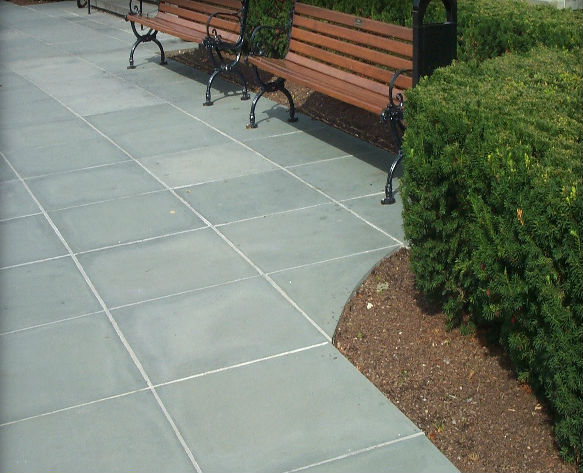 Blue Thermal Paving