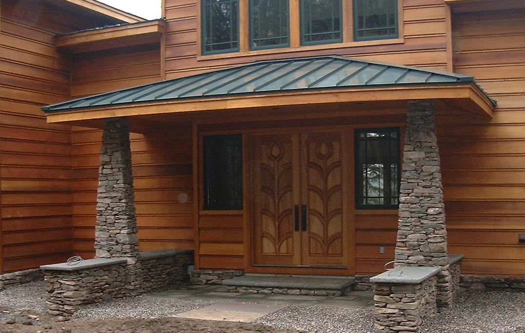 Veneer Fieldstone, Natural Cleft Caps & Full Color Natural Cleft Steps